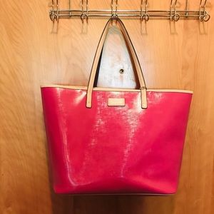 Coach Large Pink Hot Tote